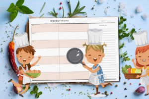 Prep Separate Dinners for Kids & Adults? Here's the Menu Planner for You!