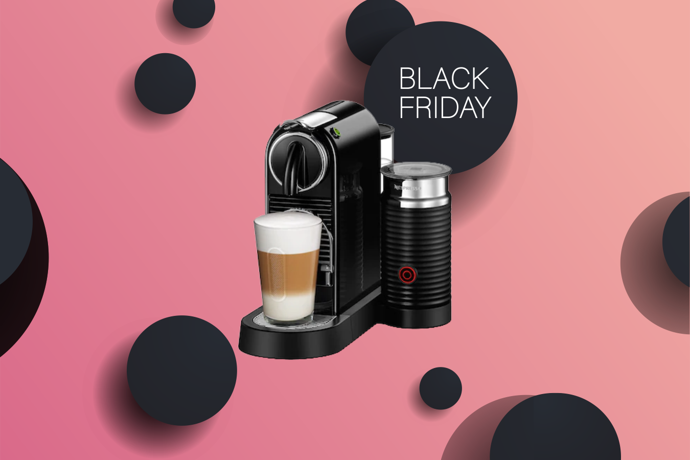 Black Friday Is The Best To Get A Nespresso Machine Between Carpools
