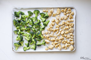 Why A Big Sheet Pan Can Save Lots of Time
