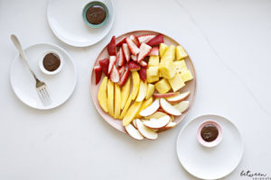 How to Serve Chocolate Fondue for a Shabbos Dessert