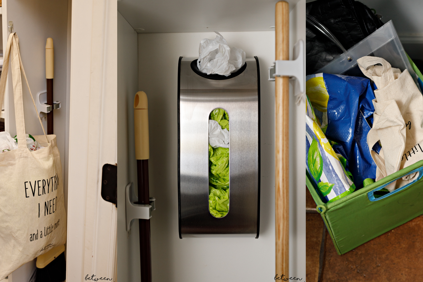 how to store bags