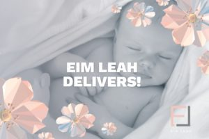 We Salute Eim Leah's Work in Support of New Mothers in Need