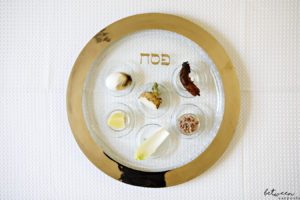 Basics: How to Set the Seder Plate.