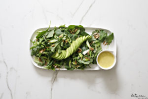 Your New Favorite (Gorgeous) Salad is Here:  Green Salad with Citrus Dressing.