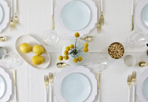 Set This Pretty Spring Table Using, Yep, Disposables! (+Coupon Code!)