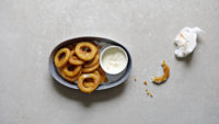 hot sauce onion rings
