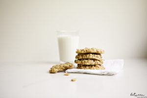 The Kid-Approved Healthyish No Mixer Oatmeal Cookie (Egg Free)