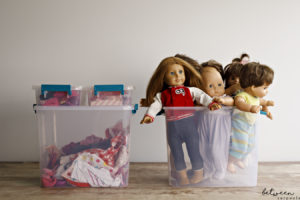 The Best Way to Organize Dolls