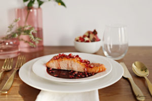 This Pomegranate Salmon Has Only Three Ingredients