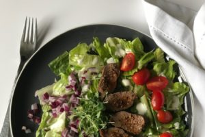 Love Oyster Steak? This Salad is your New Shabbos Appetizer