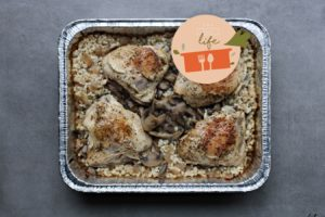 9 x 13 Life: This Mushroom Barley Chicken Cooks While You're Out