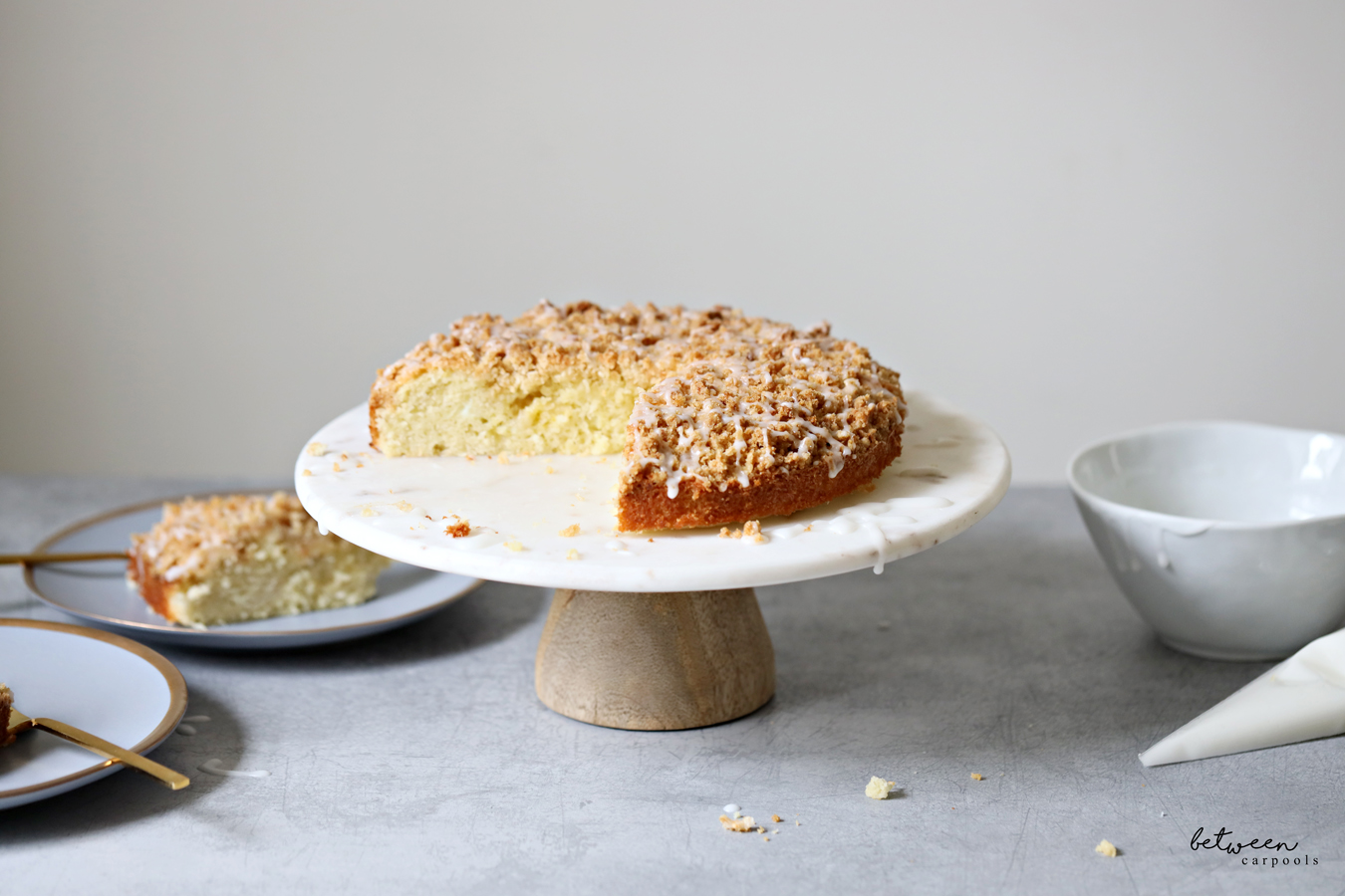 coconut crunch cake