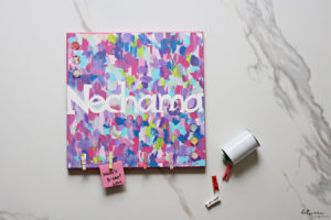 Time for a Paint Party! Kids of All Ages Will Love Creating Name Art