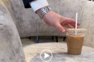 We Spilled an Iced Coffee on a TH Interiors Sofa. Watch What Happens.