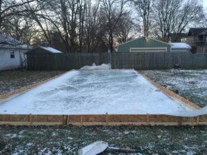 How to Make an Ice Skating Rink in Your Backyard