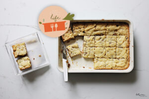 The 9×13 Life: Decadent Dairy Cookie Bars (The Easiest Thing You'll Make for Shavuos)