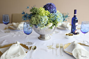This Shavuos Table is Classic + Elegant + Fresh (More Tablesetting Inspo!)
