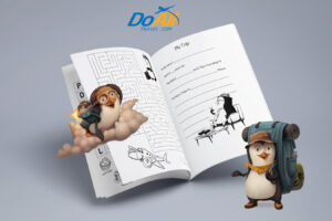 Do all travel activity book for kids