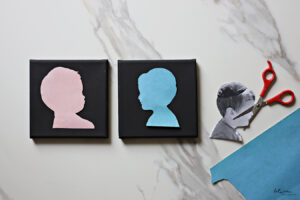 Great Summer Craft Activity for the Whole Family: Silhouette Art!
